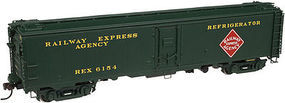 Atlas Steel Express Reefer Railway Express Agency #6533 HO Scale Model Train Freight Car #20003397