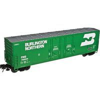 Atlas 53 Evans Boxcar Burlington Northern #750002 HO Scale Model Train Freight Car #20003426