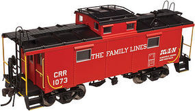 Atlas NE-6 Caboose Family Lines 1080 HO Scale Model Train Freight Car #20003602