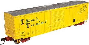 Atlas ACF 50 Boxcar Illinois Terminal #7342 HO Scale Model Train Freight Car #20003670