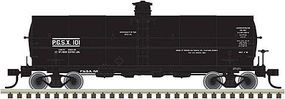 Atlas 11,000-Gallon Tank Car Propane Gas Service HO Scale Model Train Freight Car #20003737