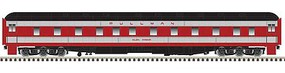 Atlas Pullman 6-3 Sleeper - Ready to Run Seaboard Air Line Glen Canyon (gray, red, black)