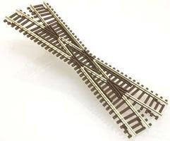 Atlas Code 55 22.5 Degree Crossing N Scale Nickel Silver Model Train Track #2041