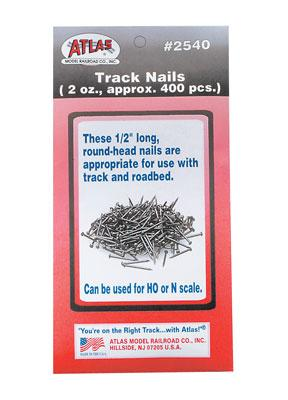 Atlas Track Nails -- Model Train Track Accessory -- #2540