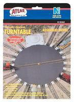 Atlas Turntable N Scale Nickel Silver Model Train Track #2790