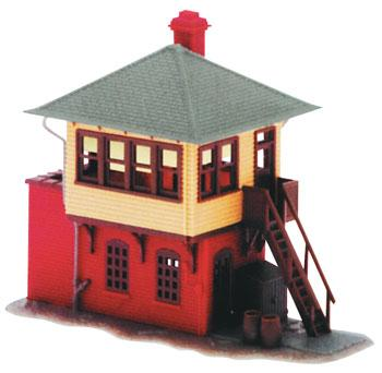 Atlas Signal Tower Kit -- N Scale Model Railroad Building -- #2840