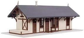 Atlas Maywood Station Tan Kit N Scale Model Railroad Building #2848