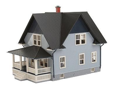 Kim 39 s classic american home kit n scale model railroad for American kit homes