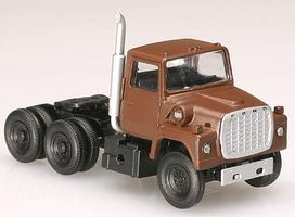Atlas 1984 Ford(R) LNT 9000 Tractor Cab Brown N Scale Model Railroad Vehicle #2914