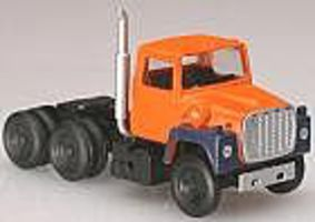 Atlas 1984 Ford(R) LNT 9000 Tractor Cab Orange/Blue N Scale Model Railroad Vehicle #2916