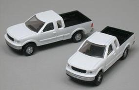 Atlas American Trucks - Ford F-150 Standard Side Pickup - 2-Pack White - N-Scale (2)