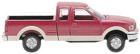 Atlas American Trucks - Ford F-150 Pickup w/Two-Tone Paint - 2-Pack Red & Tan - N-Scale (2)