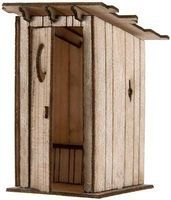 Atlas Outhouse Kit HO Scale Model Railroad Building #4001008