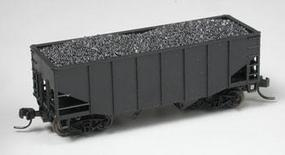 Atlas 55-Ton Fishbelly Hopper Undecorated N Scale Model Train Freight Car #41100