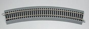 Atlas 18'' Curved True-Track -- HO Scale Nickel Silver Model Train Track -- #411x1