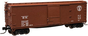 Atlas USRA Double-Sheathed Boxcar Undecorated w/7-8 End N Scale Model Train Freight Car #45701