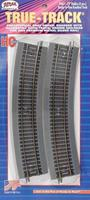 Atlas 22 Radius True-Track (4) HO Scale Nickel Silver Model Train Track #463