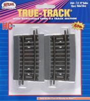 Atlas Code 83 1/3-22 Radius Curve Section pkg(4) HO Scale Nickel Silver Model Train Track #464
