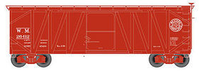 Atlas USRA Single-Sheathed Wood Boxcar Western Maryland N Scale Model Train Freight Car #50001259