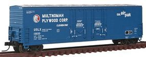 Atlas Evans 53 Double Plug-Door Boxcar Multnomah Plywood N Scale Model Train Freight Car #50001414