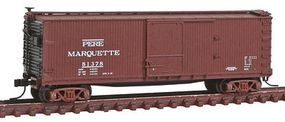 Atlas USRA Double-Sheathed Boxcar Pere Marquette #81378 N Scale Model Train Freight Car #50001481