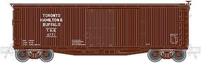Atlas Double-Sheathed Boxcar Toronto, Hamilton & Buffalo N Scale Model Train Freight Car #50001491