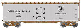 Atlas 40 Wood Reefer Pacific Great Eastern #819 N Scale Model Train Freight Car #50001755