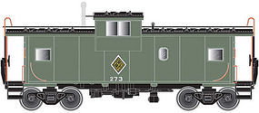 Atlas Extended Vision Caboose C&IM #273 N Scale Model Train Freight Car #50002025