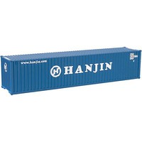 Atlas 40 Container Hanjin #2 (2) N Scale Model Train Freight Car Load #50002264