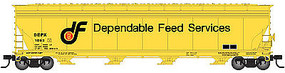 Atlas ACF 5701 Hopper Dependable Feed #1053- N Scale Model Train Freight Car #50002472