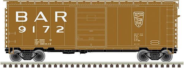 N SCALE ATLAS #50001941 40' PS-1 BOX CAR LEHIGH NEW ENGLAND RD #9049 NEW