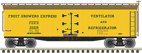Atlas 40 Wood Reefer Fruit Growers Express #35202 N Scale Model Train Freight Car #50002685