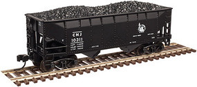 Atlas 2-Bay Offset-Side Hopper w/Load 3-Pack - Ready to Run - Master(R) Central Railroad of New Jersey - N-Scale