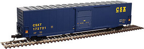 Atlas ACF 60 Single-Door Auto Parts Boxcar - Ready to Run - Master(R) CSX #172714 - N-Scale