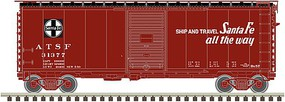 Atlas N 40PS-1 BOXCAR ATSF 31377