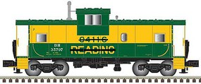 Atlas Ext Vis Caboose Reading - N-Scale