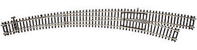 Atlas Code 83 Curved Right Hand Turn Out HO Scale Nickel Silver Model Train Track #596