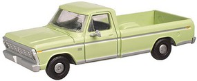 Atlas 1973 Ford F-100 Pickup Truck 2-Pack - Assembled Winter Green - N-Scale