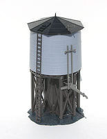 Atlas Water Tower Built-Up HO Scale Model Railroad Trackside Accessory #603