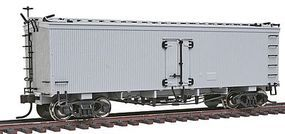 Atlas GACC 36 Wood Reefer Assembled - Undecorated HO Scale Model Train Freight Car #6102