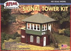 Atlas Signal Tower Kit HO Scale Model Railroad Building #704