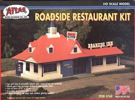 Atlas Roadside Restaurant Kit HO Scale Model Railroad Building #760