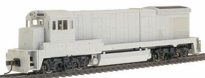 Atlas GE B23-7 - Sound & DCC Equipped - Undecorated -- HO Scale Model Train Diesel Locomotive -- #8102