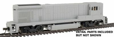 Atlas GE B30-7 - Sound & DCC Equipped - Undecorated -- HO Scale Model Train Diesel Locomotive -- #8104