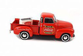 Atlas 1953 Chevy Pick-Up Coke - 1/43 Scale