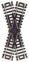 Atlas Code 100 30 Degree Cross N/S Snap HO Scale Nickel Silver Model Train Track #839