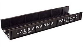 Atlas Code 100 Plate Girder Bridge - Lackawanna (black, white) HO Scale Model Railroad Bridge #895