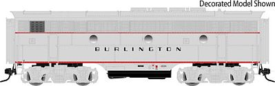 Atlas-O EMD F3B - 3-Rail Undecorated -- O Scale Model Train Diesel Locomotive -- #1628