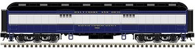 Atlas-O 60 Heavyweight Baggage - 3-Rail - Ready to Run - Trainman(R) Baltimore & Ohio - O-Scale