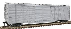Atlas-O 50 Single-Sheathed Double-Door Boxcar Undecorated O Scale Model Train Freight Car #2001550